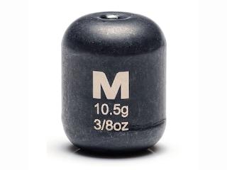 Mustad Carolina Weight 3/8oz Tungsten Black 3Pk