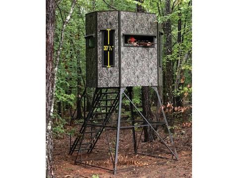 Texas Hunter Wrangler Combo 5' x 7' Box Blind True Timber Camo