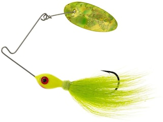 Panther Martin Bearded Banshee Spinnerbait Chartreuse Holographic 1/4 oz