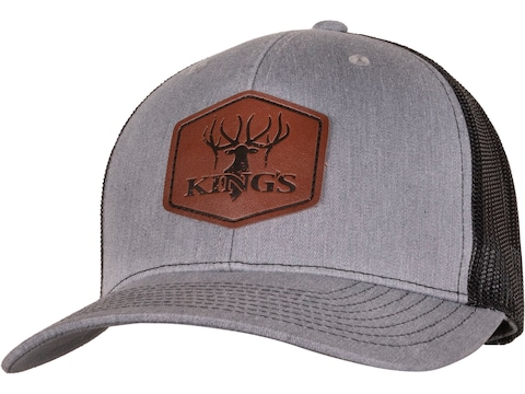 King's Camo Leather Patch Snapback Trucker Cap