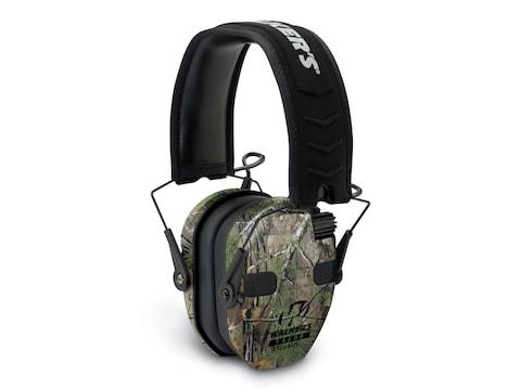 Walker's Razor Slim Quad Electronic Earmuffs (NRR 23dB) Realtree Xtra
