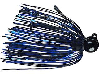 Picasso Tungsten Little Spotty Jig Black/Blue 3/16 oz