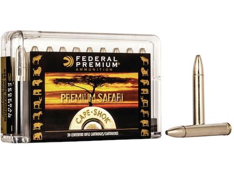 Federal Premium Safari Ammunition 458 Winchester Magnum 400 Grain Trophy Bonded Bear Claw