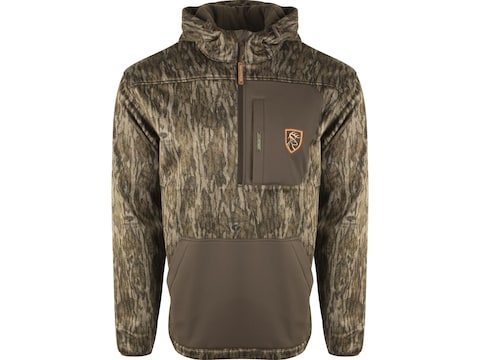 Drake Non-Typical Men's Midweight Scent Control Endurance 1/4 Zip Hoodie