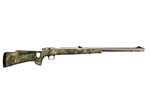 """Knight Bighorn Western Muzzleloading Rifle .52 Caliber 26"""" Stainless Steel Barrel Synth..."""