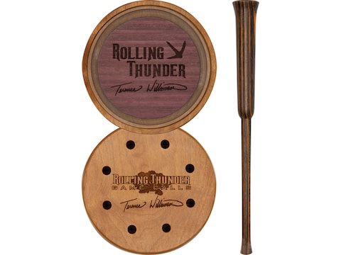Rolling Thunder Game Calls Terence Williamson Signature Crystal Pot Turkey Call