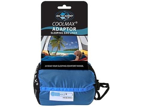 Sea to Summit Adapter Sleeping Bag Liner Thermolite Blue CoolMax