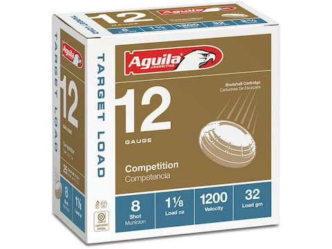 Aguila Competition Heavy Target Load Ammunition 12 Gauge 2-3/4""