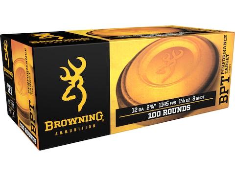 "Browning Sporting Ammunition 12 Gauge 2-3/4"" 1-1/8 oz #8 Shot"