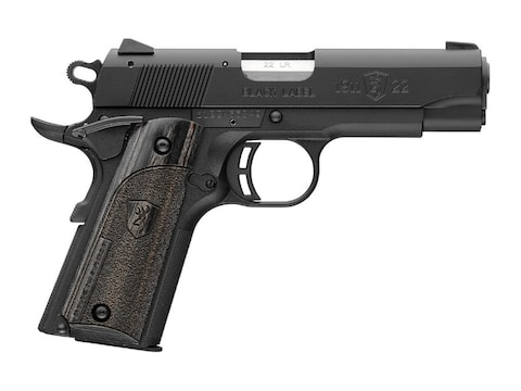 """Browning 1911-22 Black Label Compact Pistol 22 Long Rifle 3.62"""" Barrel 10-Round"""