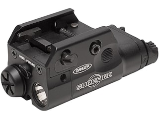 Surefire XC2 Compact Pistol Light LED with Red Laser with 1 AAA Battery Aluminum Black