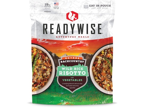 ReadyWise Backcountry Wild Rice Risotto with Vegetables Freeze Dried Food 2.5 Servings