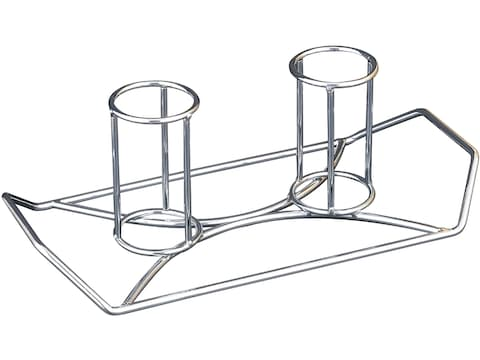Camp Chef The Twins Beer Can Double Chicken Grill Rack Steel
