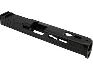Swenson Enhanced Slide with Vortex Venom, Burris Fastfire 3 Red Dot Sight Cut Glock 17 Gen 3 9mm Luger Stainless Steel Black DLC