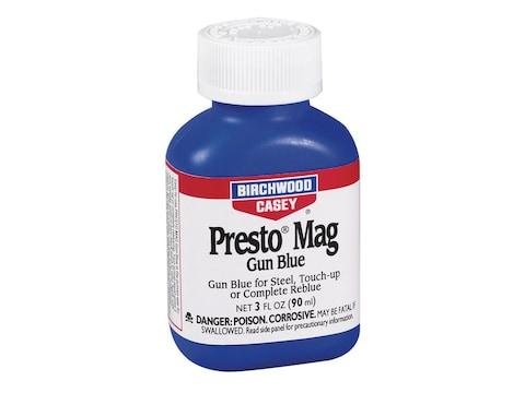Birchwood Casey Presto Blue Magnum Cold Gun Blue 3 oz Liquid