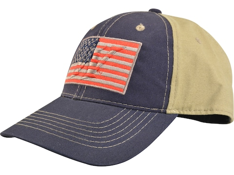 Winchester Flag Patch Low Crown Logo Cap Navy/Khaki