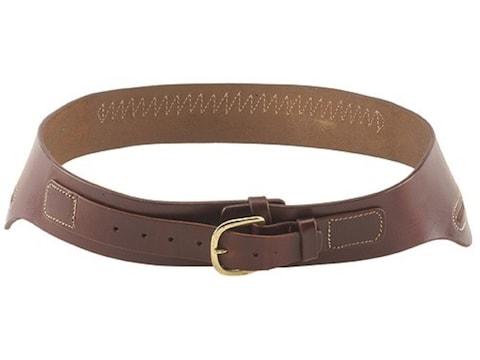 Triple K 111 Conquistador Western Double Holster Drop-Loop Cartridge Belt Leather