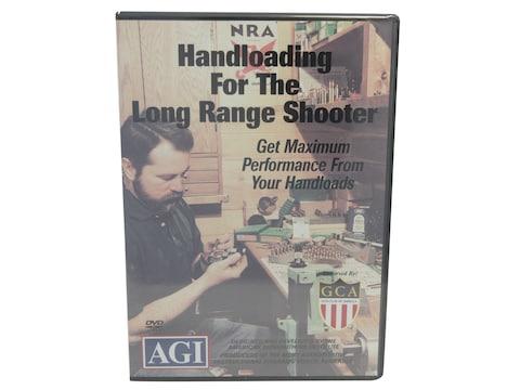 """American Gunsmithing Institute (AGI) Video """"Handloading for the Long Range Shooter"""" DVD"""