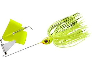 BOOYAH Buzz Buzzbait 1/4oz Chartreuse Shad Chartreuse