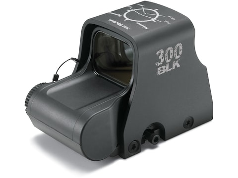 EOTech XPS2-300 Blackout/Whisper Holographic Weapon Sight 68 MOA Circle with (2) 1 MOA ...