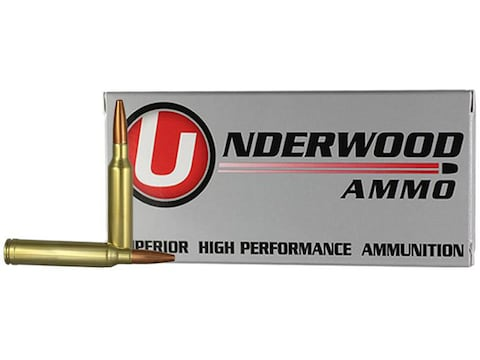 Underwood Ammunition 7mm Remington Magnum 142 Grain Lehigh Controlled Chaos Lead-Free B...