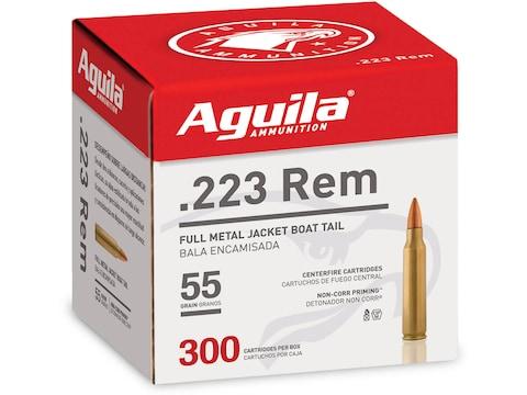 Aguila Ammunition 223 Remington 55 Grain Full Metal Jacket