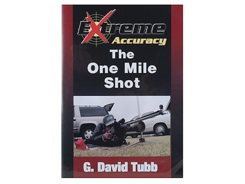"""Gun Video """"Extreme Accuracy: The One Mile Shot with G. David Tubb"""" DVD"""
