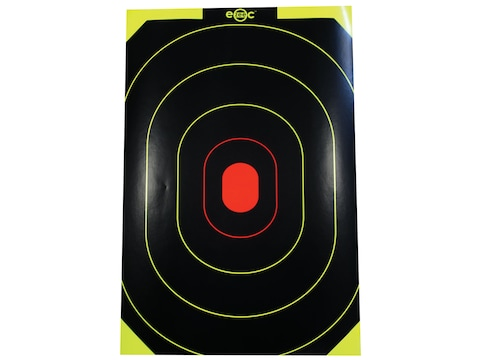"Birchwood Casey E-ZEE-C Self-Adhesive 10"" x 15'"" Black/Yellow Silhouette Target"
