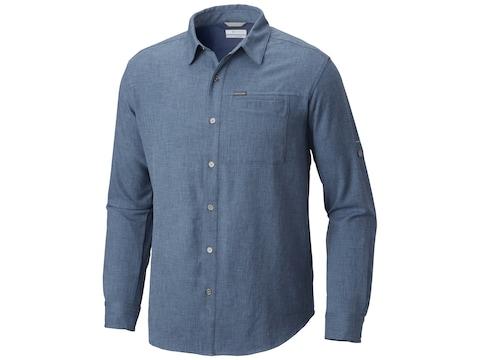 Columbia Men's Pilsner Lodge II Button-Up Long Sleeve Shirt Polyester