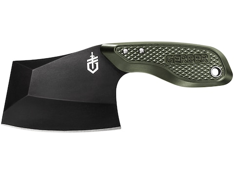 "Gerber Tri-Tip Mini Cleaver 2.9"" 7Cr17MoV Stainless Steel Blade Aluminum Handle"