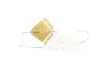 Nichols Lures Reflex Buzzbait 3/8oz Blue Shad Gold