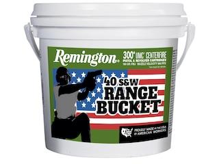 Remington UMC Ammunition 40 S&W 180 Grain Full Metal Jacket Bucket of 300 Bulk