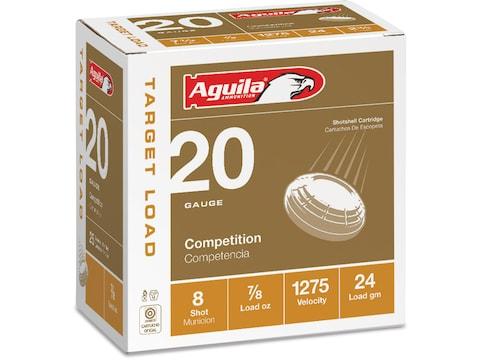 "Aguila Ammunition 20 Gauge 2-3/4"" 7/8 oz #8 Shot"