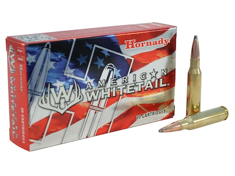 Hornady American Whitetail Ammunition 7mm-08 Remington 139 Grain Interlock Spire Point ...