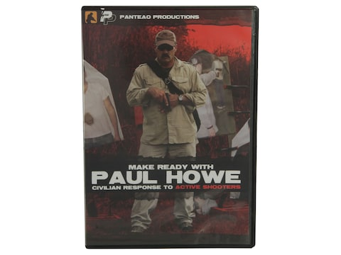 "Panteao ""Make Ready with Paul Howe: Civilian Response to Active Shooters"" DVD"