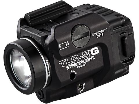 Streamlight TLR-8 Weapon Light White LED with Laser Fits Picatinny or Glock-Style Rails...