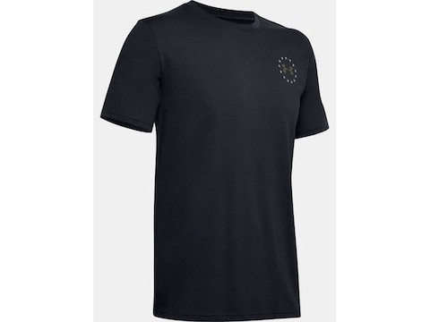 Under Armour Men's UA Freedom Banner T-Shirt Short Sleeve Polyester/Cotton