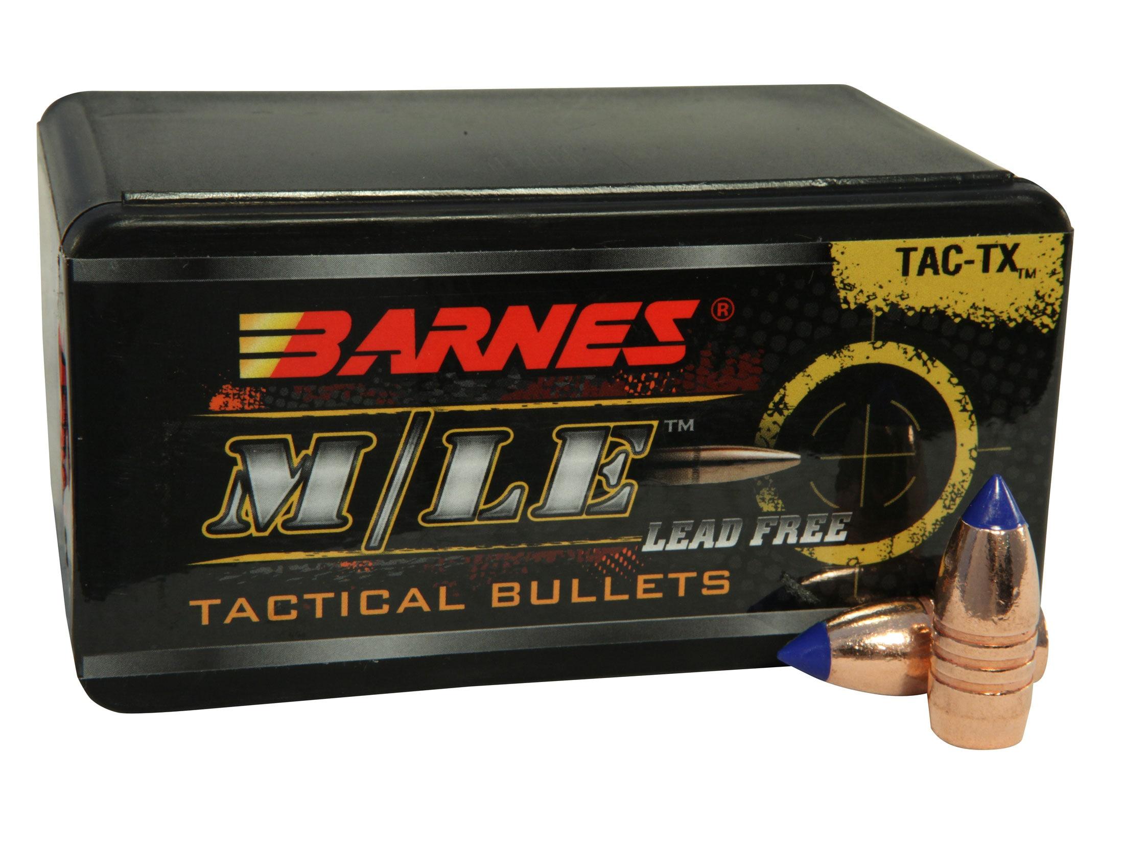 Barnes Tipped TAC-TX Bullets 458 SOCOM (458 Diameter) 300 Grain Boat