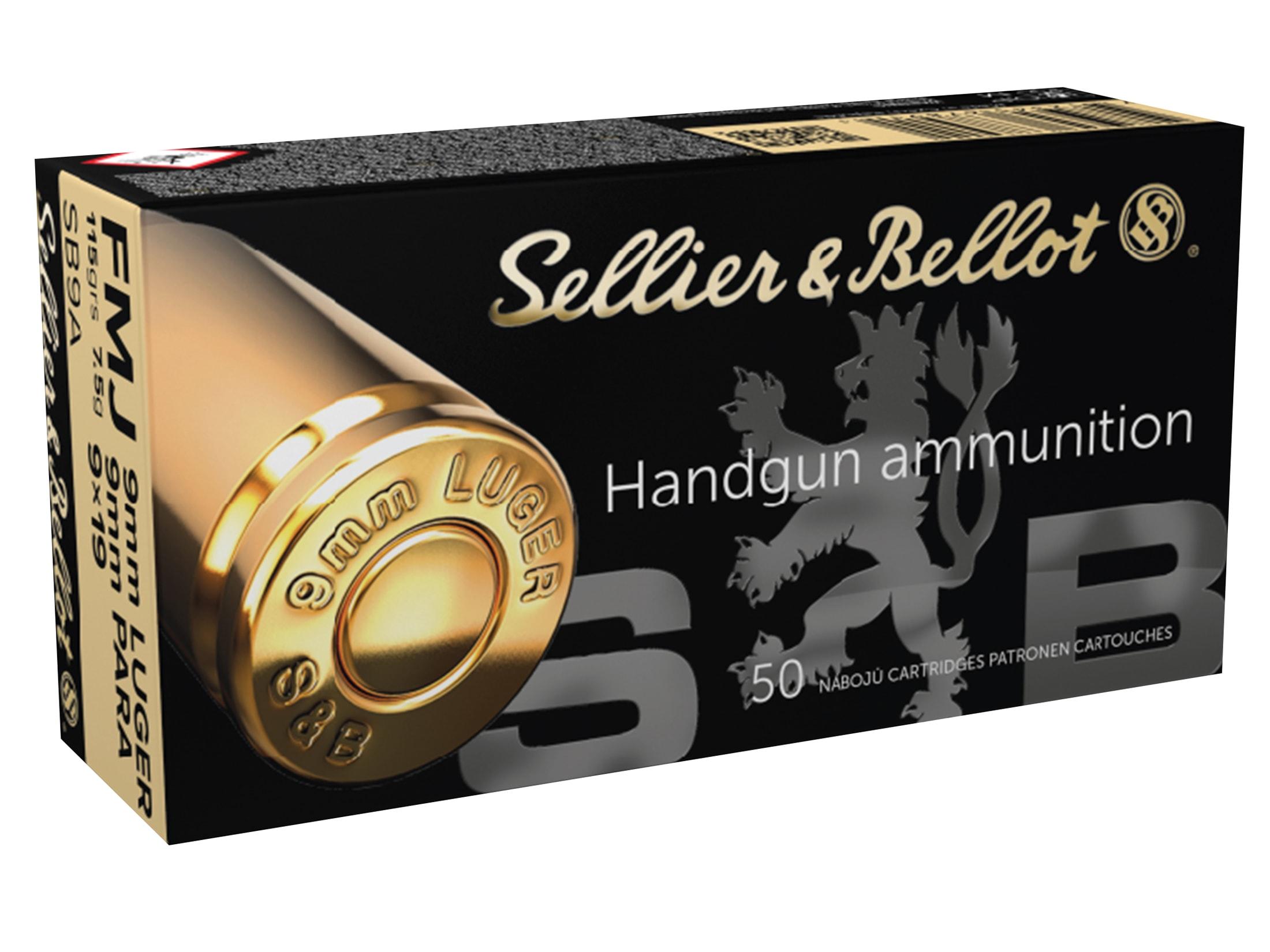 9mm Luger Ammo | 9x19 Parabellum Ammunition | Shop Now and Save