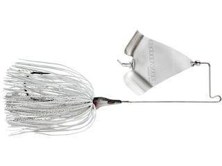 BOOYAH Squelcher Buzzbait 3/8oz Silver White Nickel