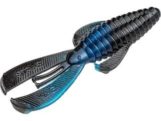 Strike King Mid-Size Rage Bug Creature Black Blue Swirl
