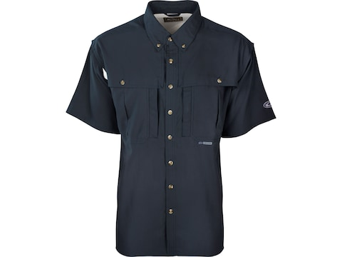Drake Men's Flyweight Wingshooter's Short Sleeve Shirt Polyester