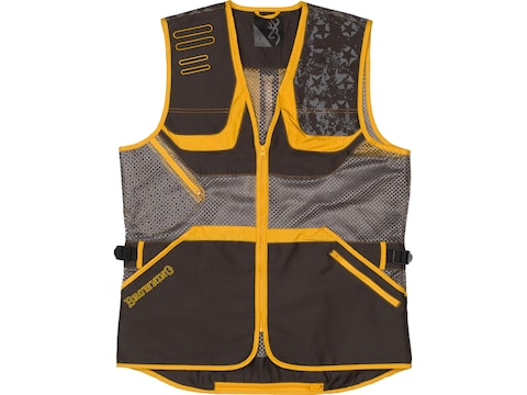 Browning Men's Team Browning Shooting Vest Right Hand Polyester Black