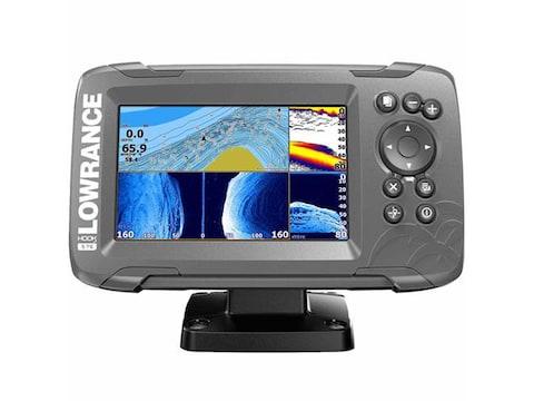 Lowrance HOOK2 Fish Finder with TripleShot Transducer US/Canada Nav+ Maps