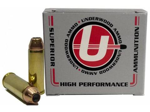 Underwood Ammunition 45 Colt (Long Colt) 250 Grain Hornady XTP Jacketed Hollow Point Bo...