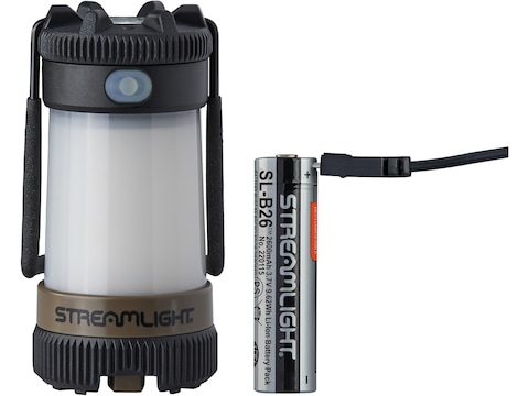 Streamlight Siege X Lantern LED with Rechargeable Lithium Battery Polymer Flat Dark Earth]