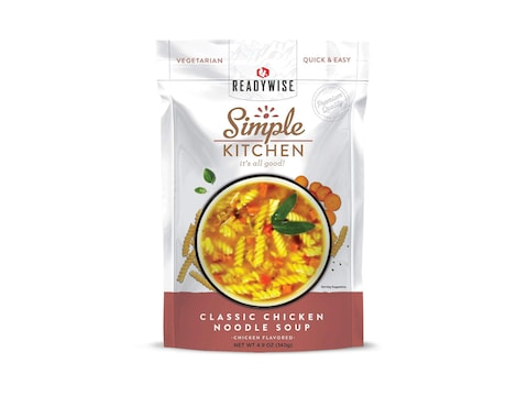 ReadyWise Simple Kitchen Classic Chicken Noodle Soup Freeze Dried Food