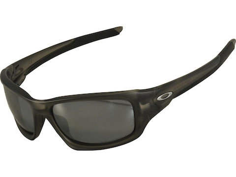 Oakley Valve Polarized Sunglasses Matte Gray Smoke Frame/Black Iridium Lens