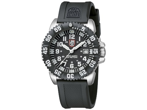 Luminox Steel Colormark Watch Stainless Steel/Rubber Black/Silver
