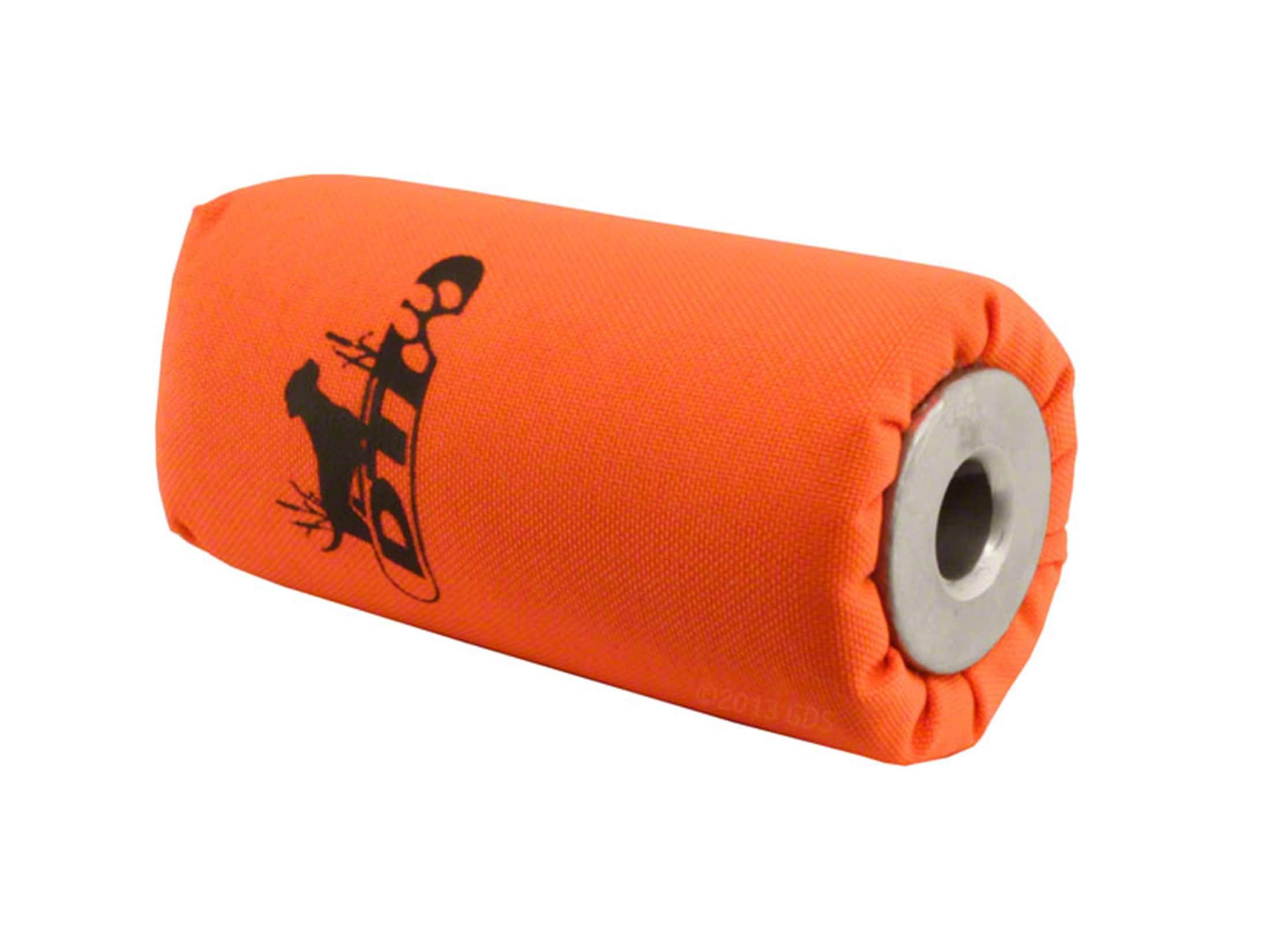 DT Systems Super Pro Launcher Dummy Hand Held Dog Training Kit White and Orange